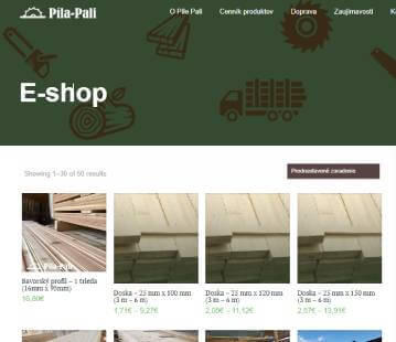 Drevené dosky, drevené fošne alebo strešné laty od Píla - Pali