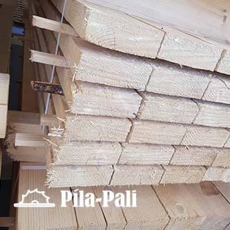 Drevené fošne 50 x 150 mm od pila-pali.sk (dĺžka 3m až 10m)